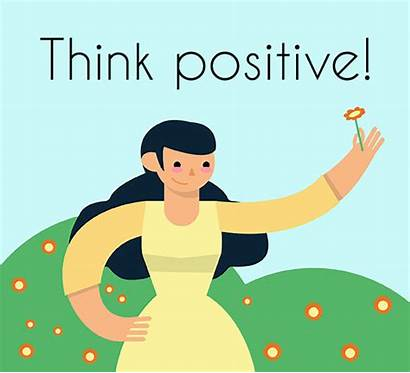 Positive Think Keep Smiling Thinking Ecard Customize