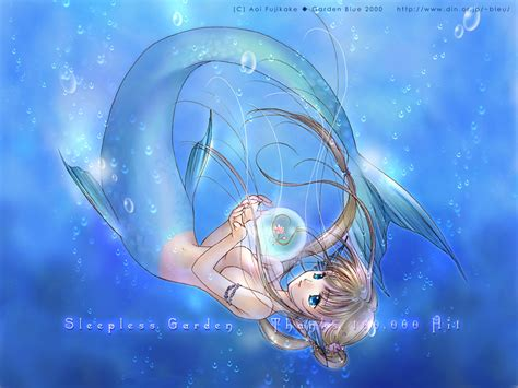 1024x768 Wallpaper Anime - anime mermaid wallpaper wallpapersafari