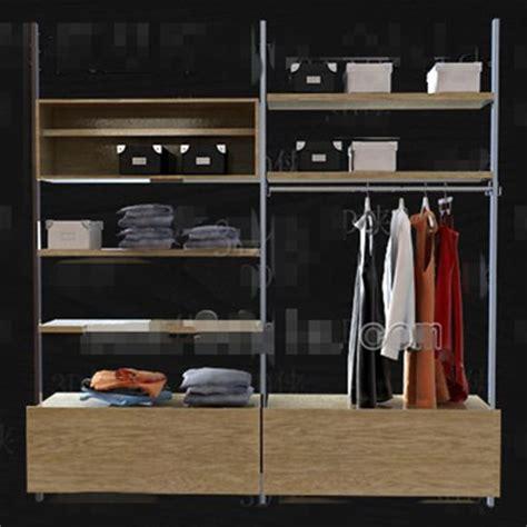 metal stents wood drawers wardrobe  model downloadfree