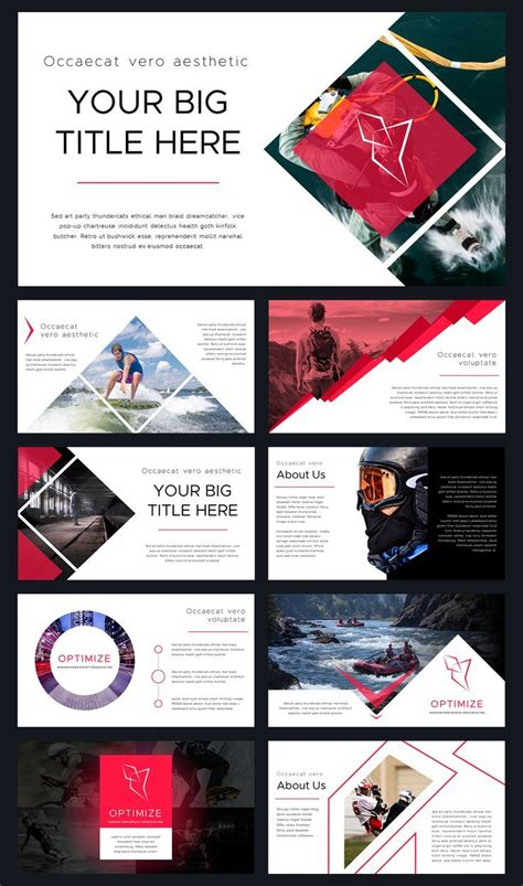 optimize modern powerpoint template thrivisualy