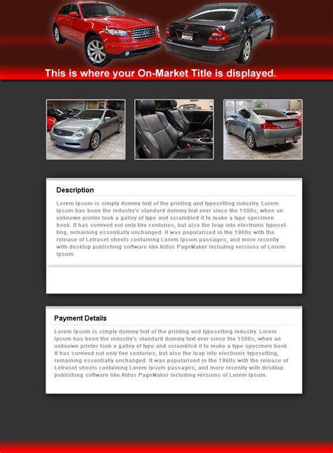 ebay template ebay templates vendio s ebay templates listing templates