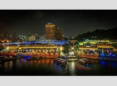 An intro to Singapore Clarke Quay District & Clarke Quay Area