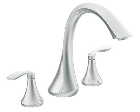 install moen kitchen faucet moen t943 two handle high arc tub faucet without