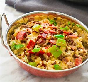 Meat Lover's Mac and Cheese - This is Not Diet Food