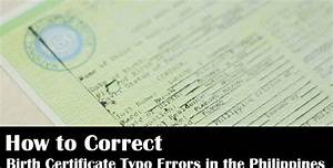 How to Correct Birth Certificate Typo Errors in the ...