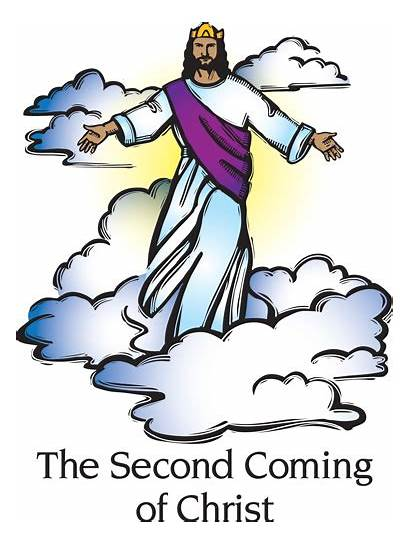 Jesus Coming Clipart Second Clip Clipground Cliparts