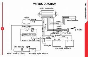 The Warriors  Wiring Diagram For Electra Inc  Electric Scooters