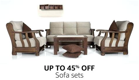 Sofa Bed Price In Bangalore by Wooden Sofa Set Teak Designs With Price Philippines