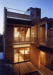 Japanese Wooden Houses  Courtyard  Multi