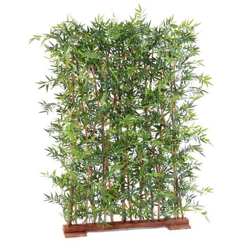 haie de bambou en pot haie artificielle bambou dense japenese plast 110 et 155 cm haies et murs vegetaux artificiels