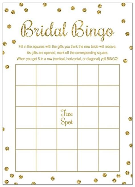 bridal shower bingo template bridal gift bingo gift ftempo