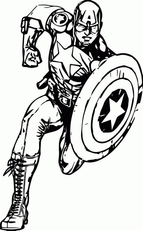 Avengers Coloring Pages Free Download Best Avengers