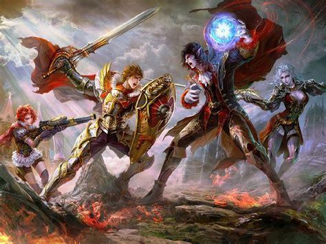 fantasy battle background wallpaper hd