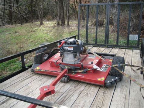 swisher pull behind mower for sale