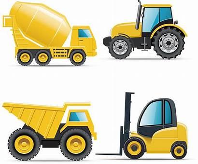 Truck Clipart Equipment Heavy Engineering Construction Transparent