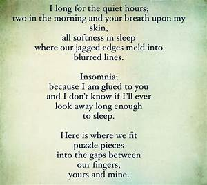Insomnia | Well Said | Pinterest