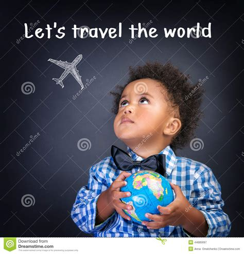 Lets Travel The World Stock Photo Image 44685697