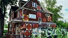 "Fire destroys ""Penny House"" at Detroit's Heidelberg Project"