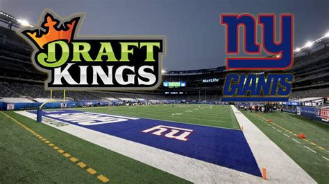 DraftKings Partners With the New York Giants in Sports ...