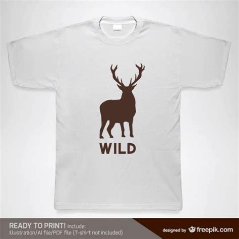 shirt design vorlage vektor wild  der