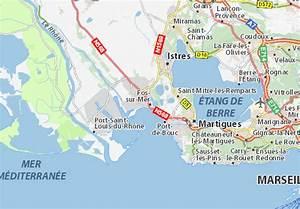Meteo France Fos Sur Mer : carte d taill e fos sur mer plan fos sur mer viamichelin ~ Medecine-chirurgie-esthetiques.com Avis de Voitures