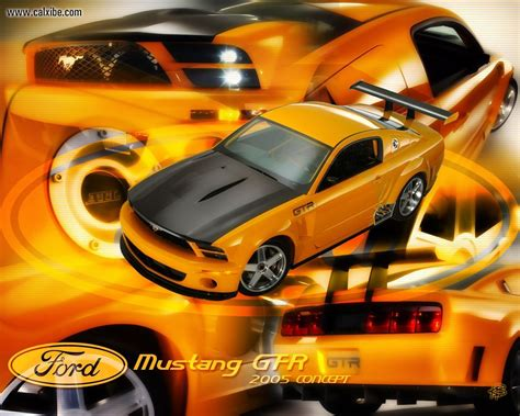 cars ford mustang gtr concept picture nr