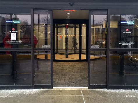 wisconsin hospitals  boon edam revolving doors  special double entrance solution