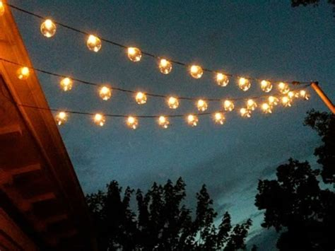 how to string lights outside patio lights target design decor 310668 decorating ideas