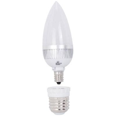 globe electric 15w equivalent bright white 3000k b10 led