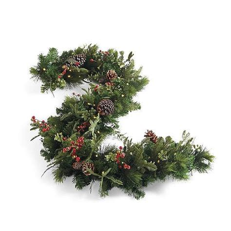christmas merry berry outdoor pre lit cordless wreath