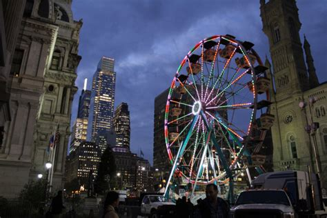 Maybe you would like to learn more about one of these? The Christmas Village Ferris Wheel at City Hall Opens This ...
