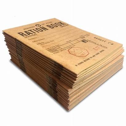 Ration Ww2 Books Bundle Normal Booklet Evacuee