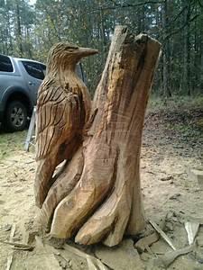Skulpturen Aus Holz : kettensaegenkunst specht holz m bel spielzeug deko sowie bearbeitung ~ Frokenaadalensverden.com Haus und Dekorationen