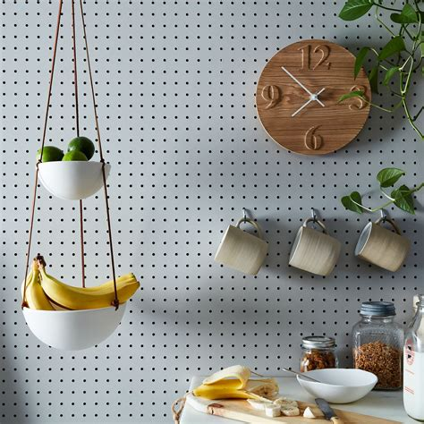 hanging  tiered ceramic fruit basket  food