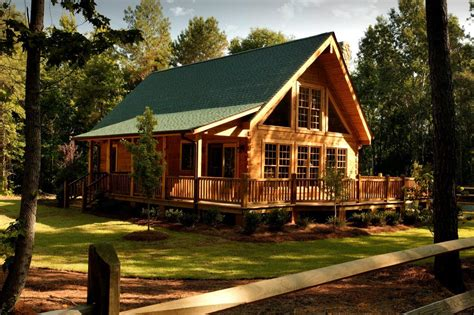log cabin home southland log homes announces opening of newest model home