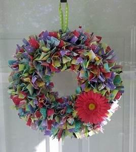 spring rag wreath rag wreaths pinterest couronnes de With serrurier elancourt