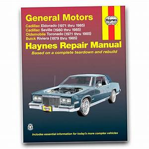 Cadillac Eldorado Haynes Repair Manual Biarritz Touring