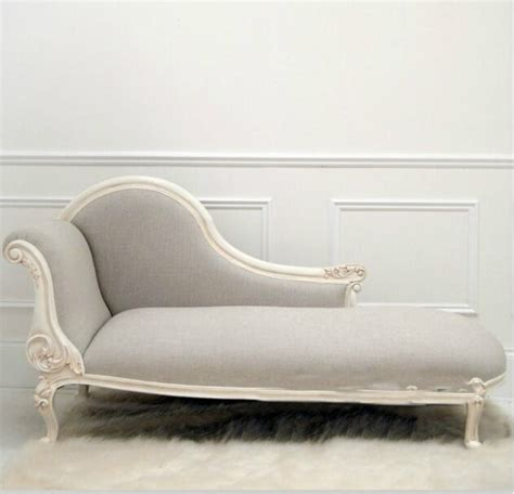 antique design royal carved chaise lounge chair