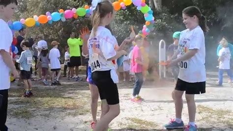 color my pictures my school color run