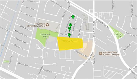 power outages reported  mountain view palo alto
