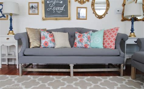 how to reupholster a settee how to reupholster a sofa