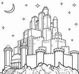 Castle Coloring Pages Printable Frozen Print Sheets Cinderella Elsa Cool2bkids sketch template