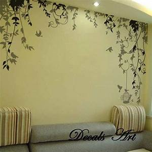 vines vinyl wall sticker wall decal tree decals wall With awesome wldlife wall decals