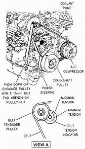 1997 Buick Park Av  Replace The Water Pump