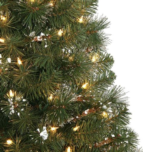4 or 5 ftrustic christmas trees 4 5 ft alpine potted artificial tree with