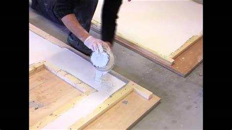fabrication plan de travail en béton
