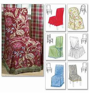 Mccall39s pattern m4404 chair cover essentials jaycotts for Furniture covers patterns