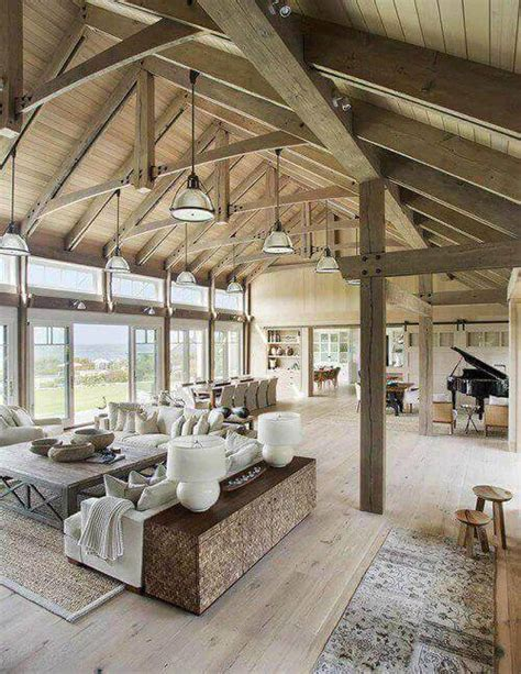 43 Beautiful Exposed Beams in House