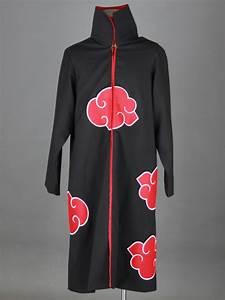 Naruto Akatsuki Organization Cosplay Costume