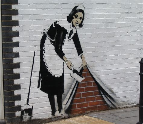 The real-life Banksy: Guerrilla street artist's most ...